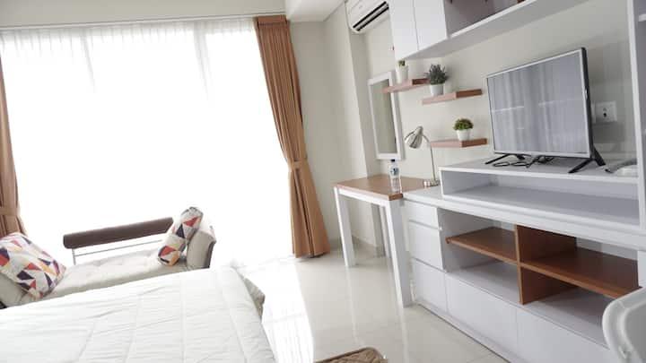 Bright Cozy Studio Apt Dago Premium Location
