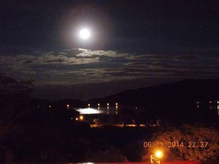 Sus esplendidas vistas de luna llena
