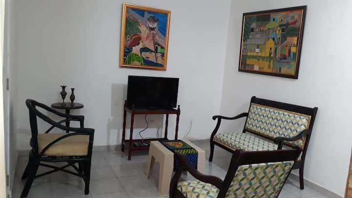 Furnished apartment near the boardwalk