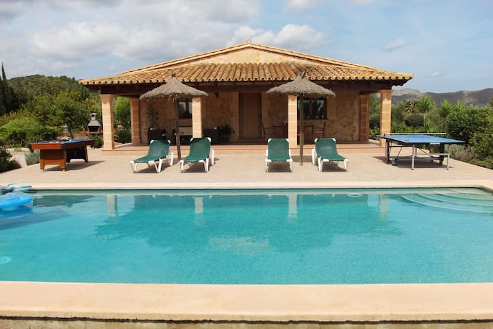 OFFER, May for only 227 € person / week. - Pollença - Villa