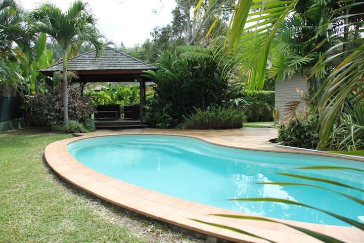 Maison agréable avec piscine - Nouméa - House