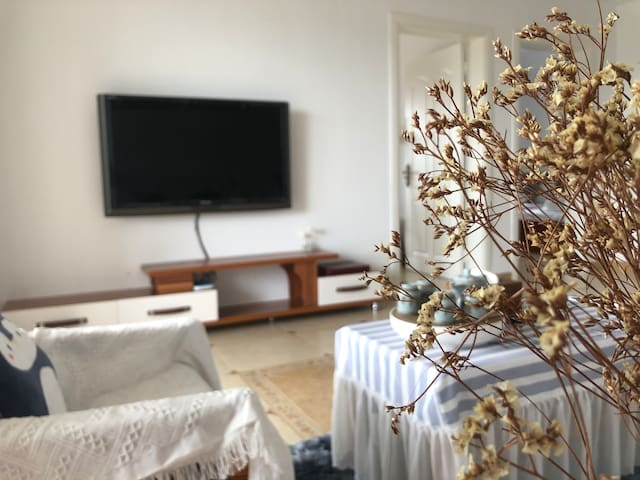 东山岛马銮湾沙滩景区🏖️/海景房/两室一厅多张床位/🀄️♠️一应俱全