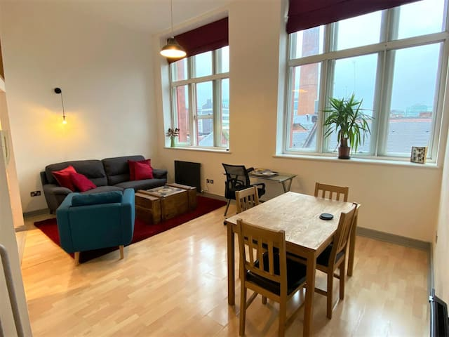 Inviting 600sqft Flat in the Heart of Manchester