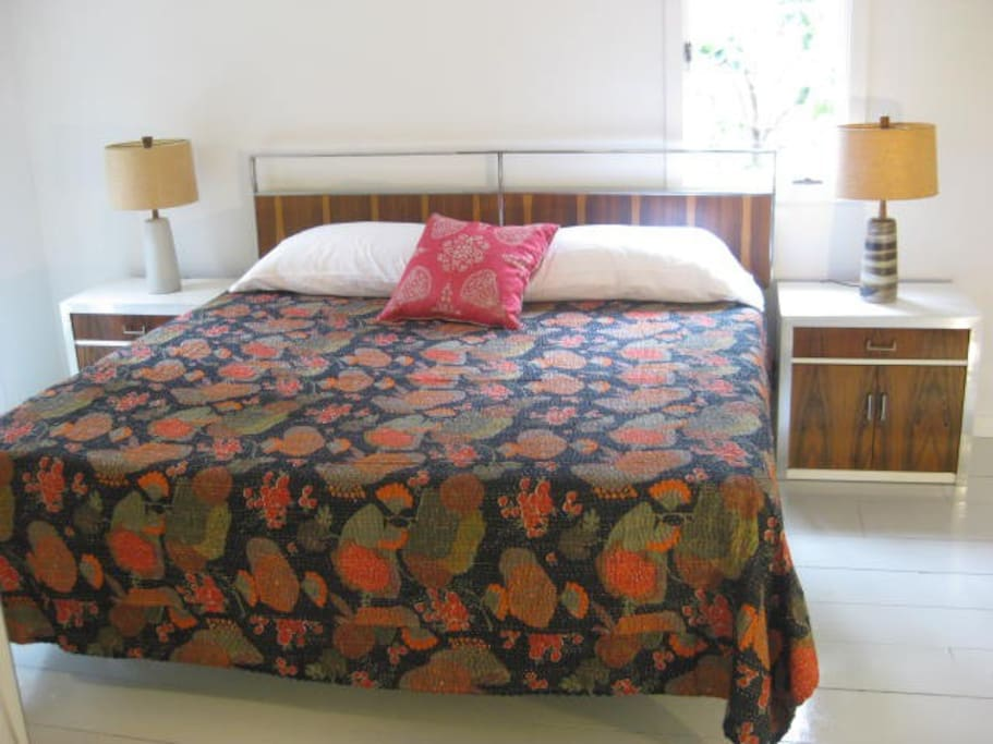 Master bedroom has a king size Tempurpedic bed, with Jack and Jill bath linking to bunkbed room.