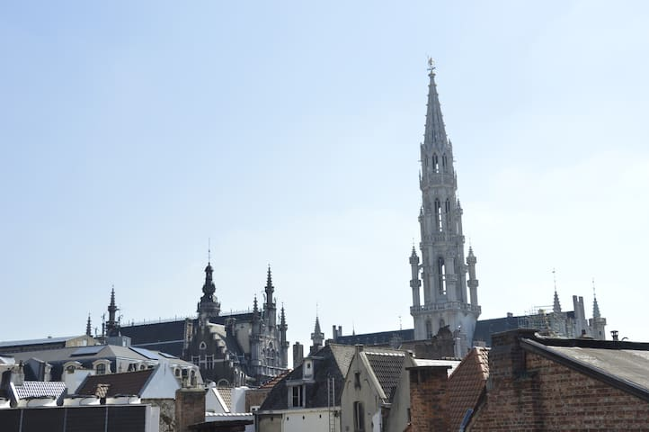 Super Flat next Grand Place! - Ville de Bruxelles - Huoneisto