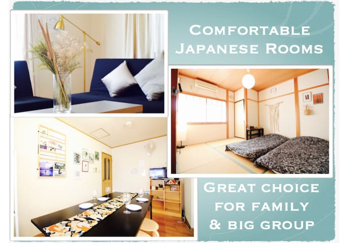 3BR Your Home in Kyoto Walk to Kiyomizu / Car Park