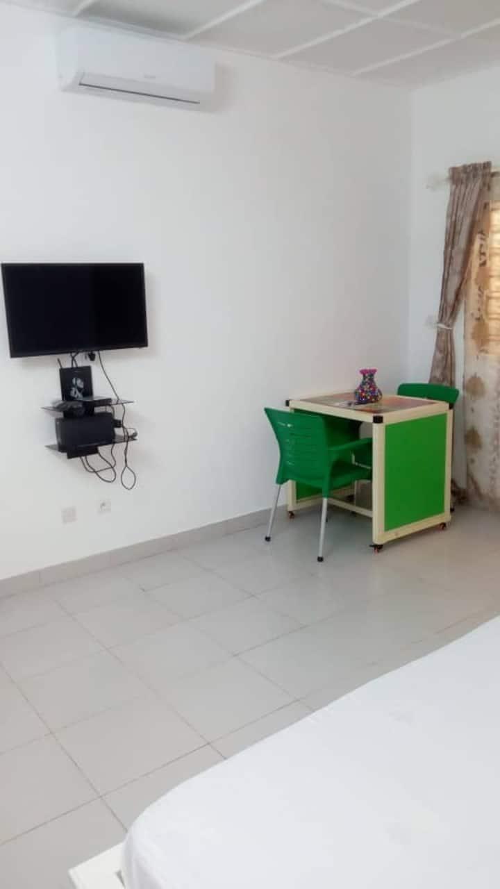 Hébergement prêt de la capital nationnal du Bénin