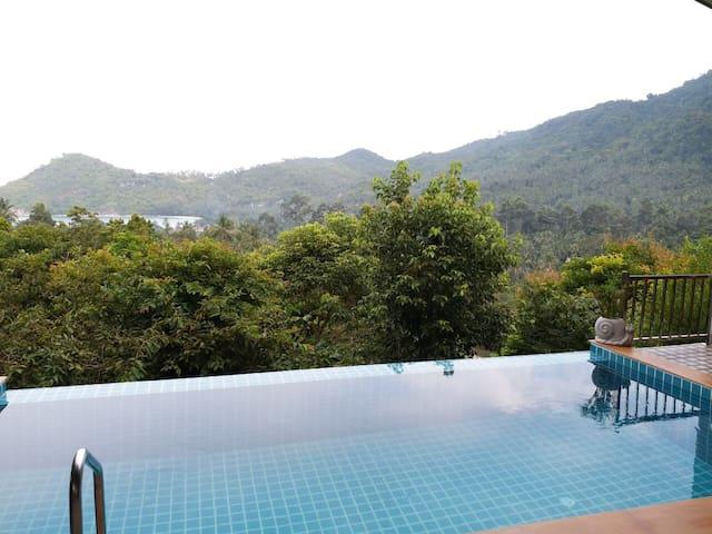 Вилла 2 спальни с красивым видом на горы