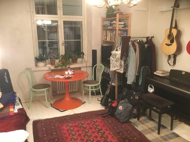 Affordable studio.Kallio.3min to Sörnäinen metro