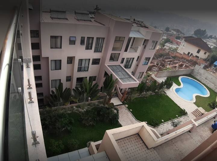 1bedroom apartmnt fully furnished in heart Kigali""