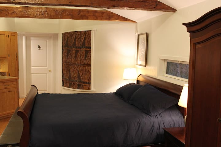 Very comfortable King size bed.