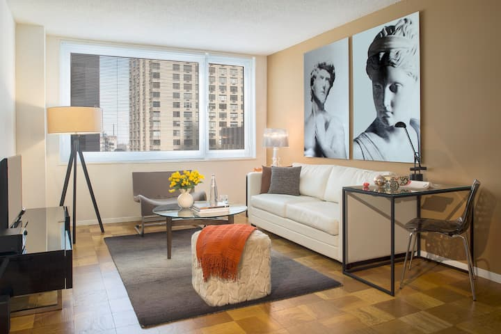 Stay in the Center of Manhattan in this Midtown West One Bedroom
