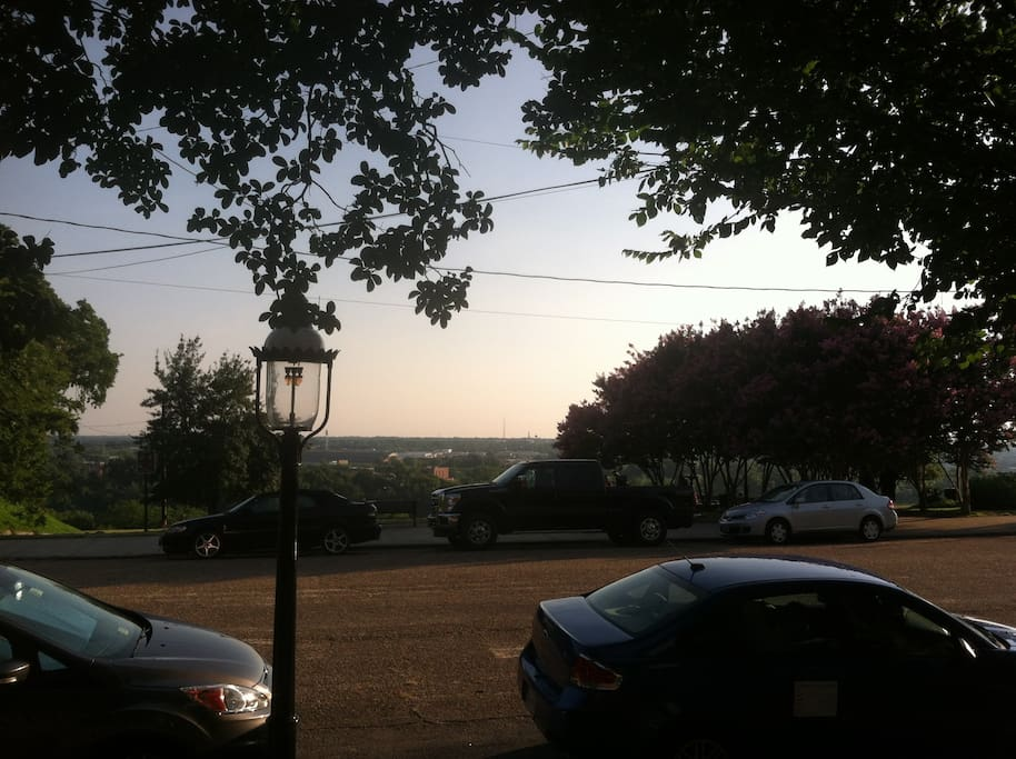 View from the front porch