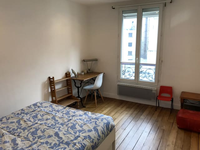 calm and lighty room in a cosy flat