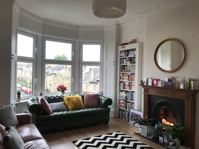 Beautiful double room in southside flat