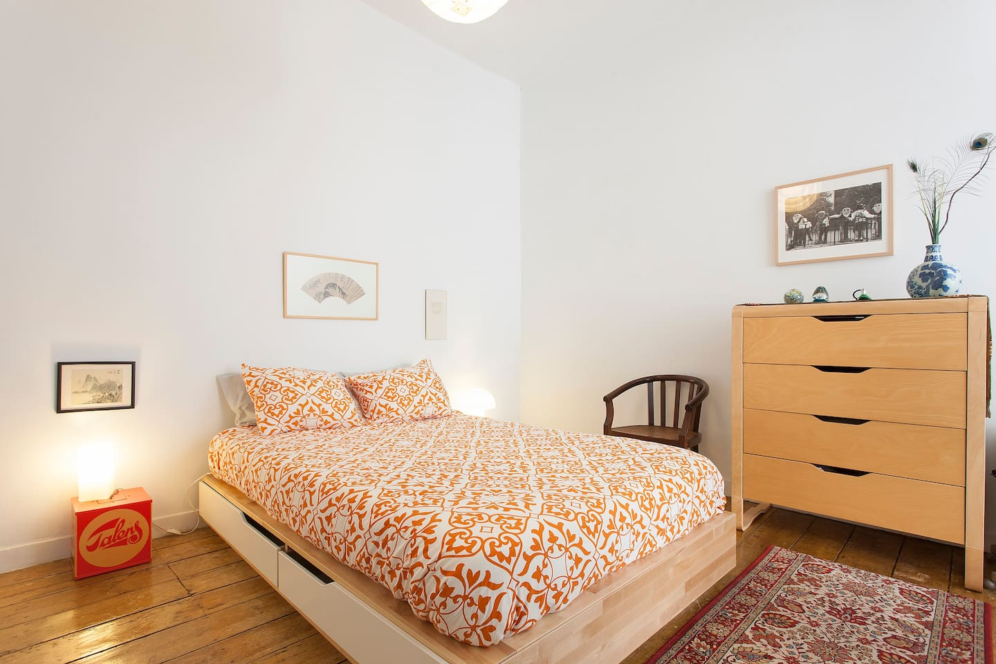 Double bed suite