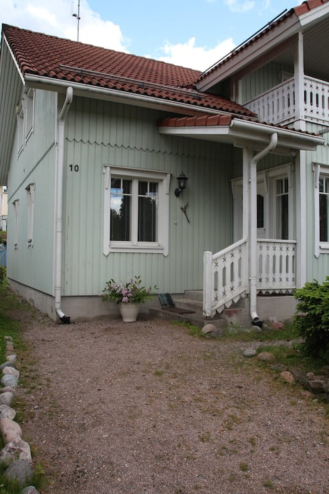 Private place with an own entrance in Espoo.