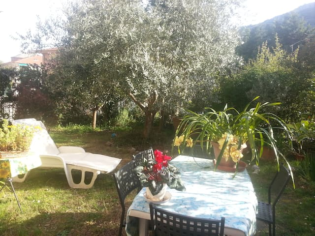 Room with garden - Finale Ligure - Huis