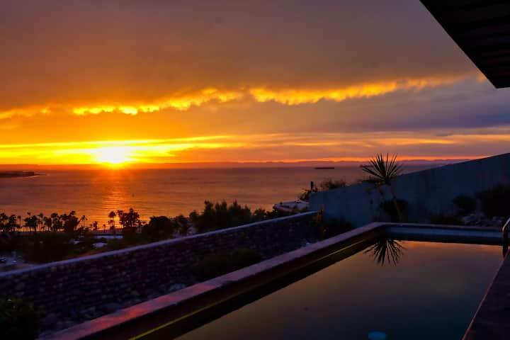 Panoramic Ocean View - Casa Sunset