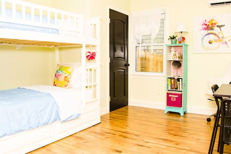 Bunks for family and friends
