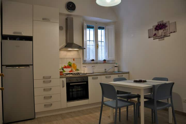 Clean, modern apartment in the city centre