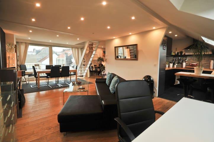 Spacieux/lumineux appartement meublé avec Terrasse - Uccle - Appartement
