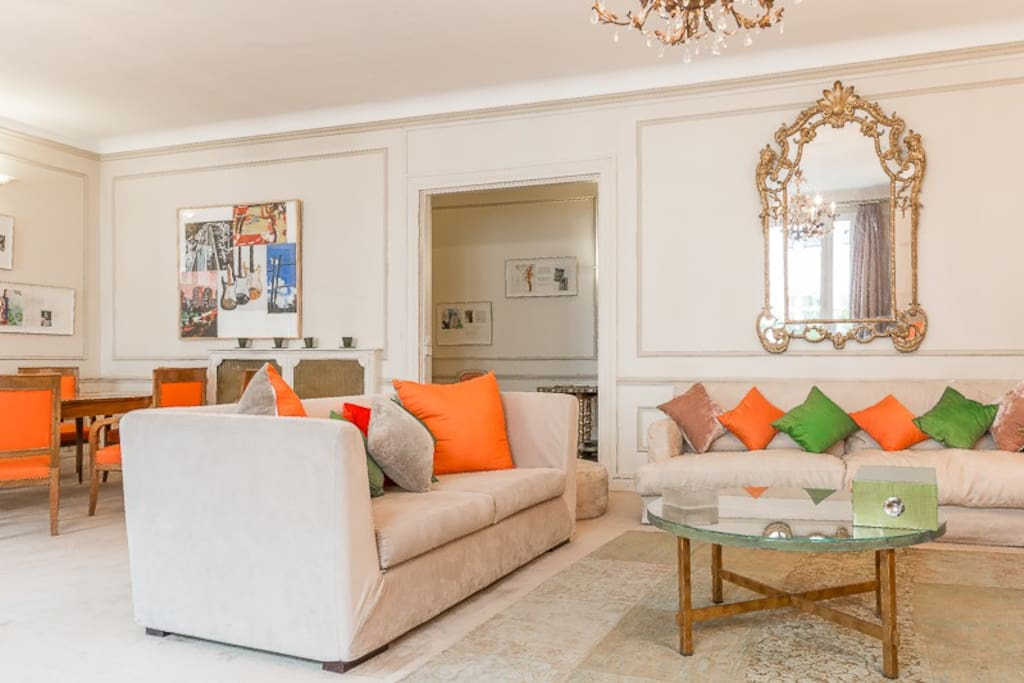 Spacious and comfortable living-room