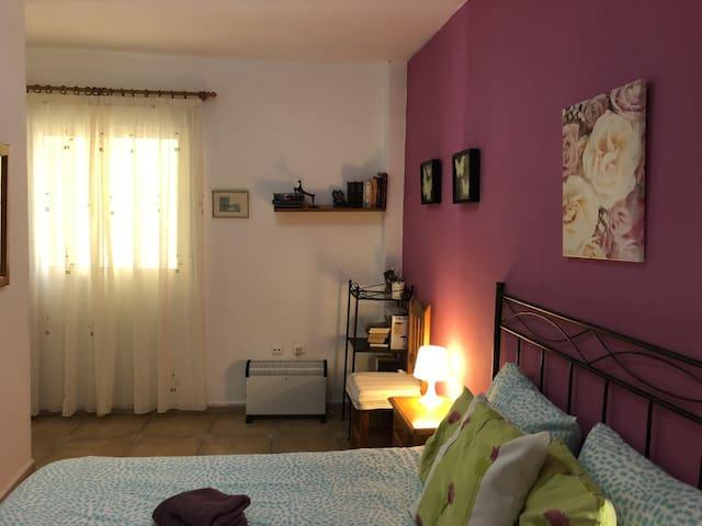 Vista general del dormitorio principal