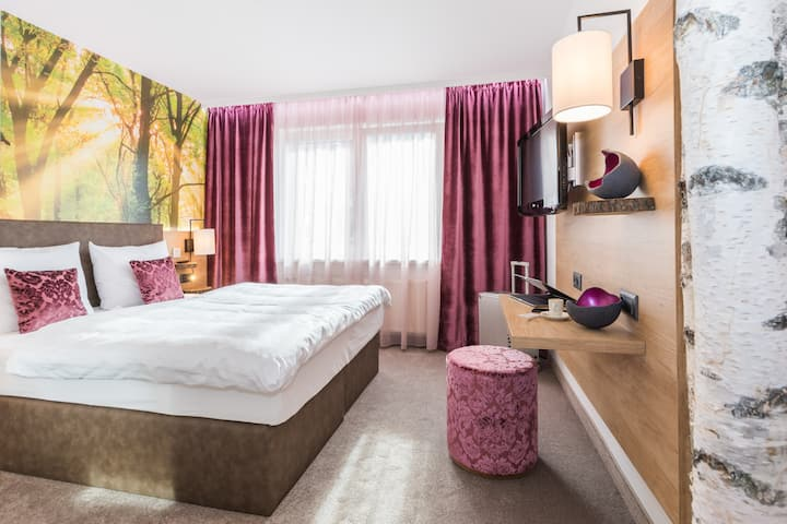 TRIHOTEL Standard Deluxe Zimmer inkl. Spa