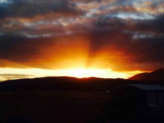 surroundings - sunset