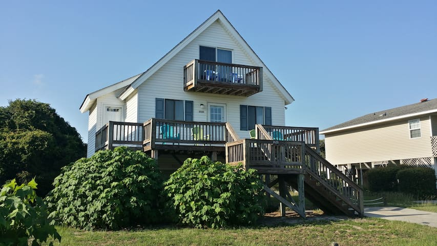 PERFECT SPOT - Close 2 Ocean - On Marsh - Oak Island - Casa