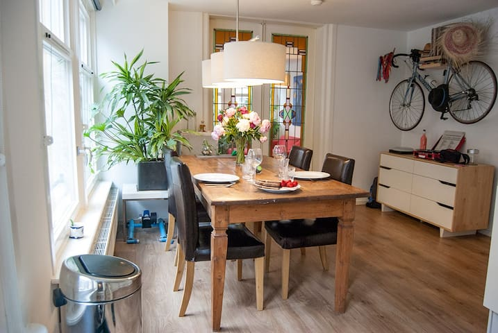 CHARMING and bright in CENTRAL JORDAAN area - Amsterdam - Apartment