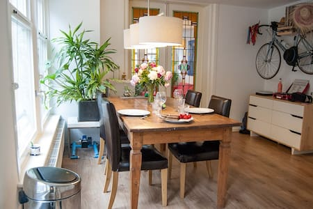 CHARMING and bright Apt in central JORDAAN area - Amsterdam - Apartemen