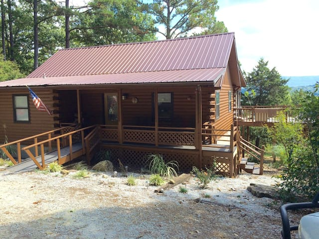 Arkansas  Roundtop Mountain View Cabin - Jasper