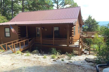 Arkansas  Roundtop Mountain View Cabin - แจสเปอร์ - กระท่อม