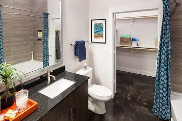 Luxurious Private Suite Downtown.Deep Ellum.Uptown