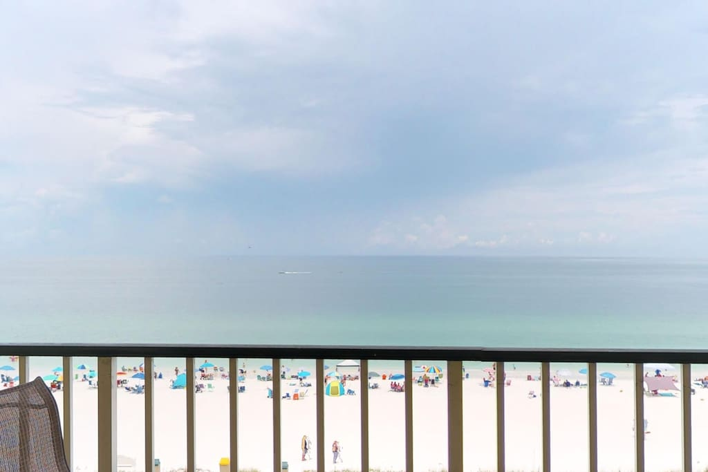 Gulf Views from Private Balcony