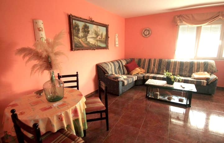 House with 3 bedrooms in Oviñana, with wonderful mountain view, furnished terrace and WiFi