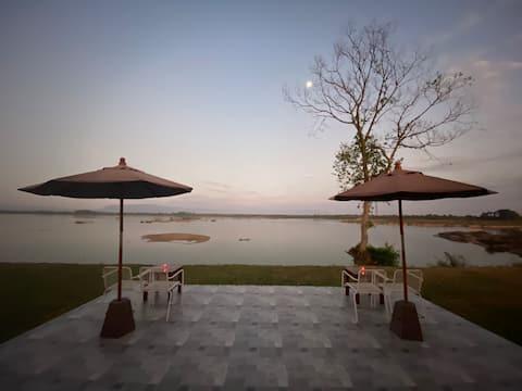 Riviera Champasak-Mekong-floden