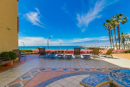 Oceanfront Pacific Beach Getaway & Spa