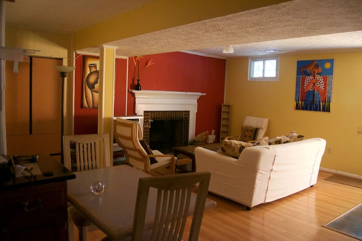 Apartment for 4, Bethesda MD nice clear basement. - Bethesda - Rumah