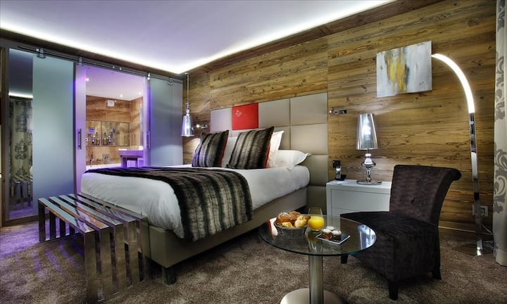 Chambre Duo Nord - KOH-I NOR 5* Val Thorens