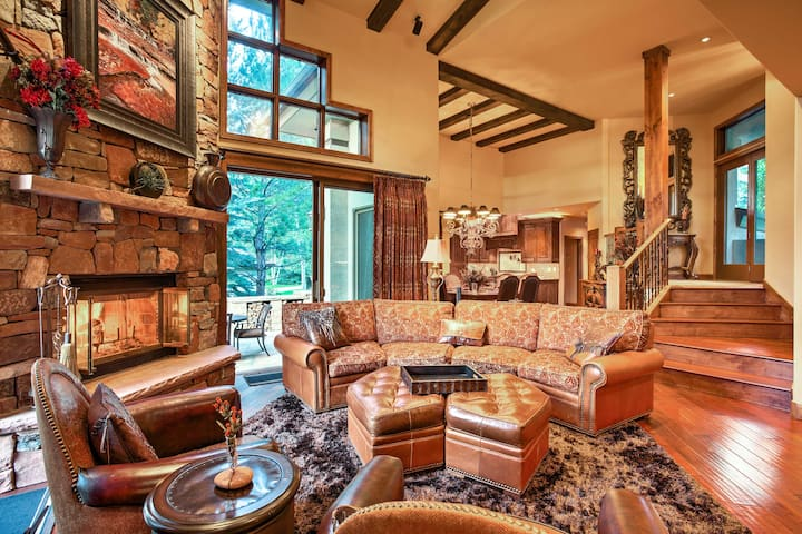 Luxe Beaver Creek Area Home w/ Hot Tub - Near Vail