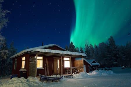 Gäst-stuga in Paksuniemi, 7km from Icehotel - Paksuniemi