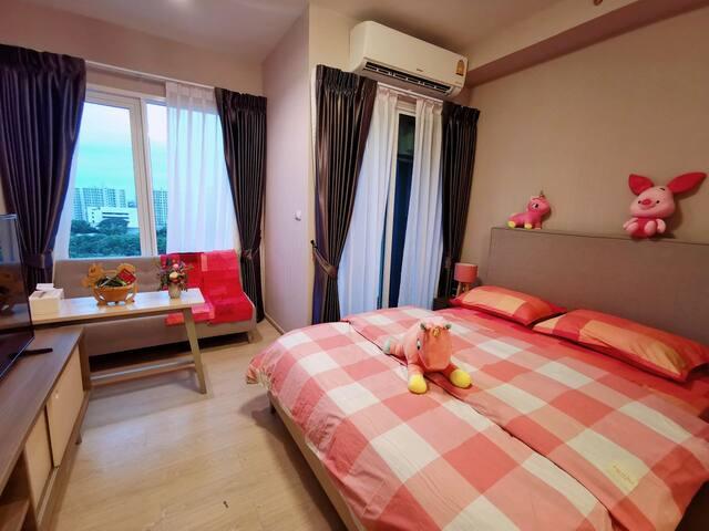 【你好 •曼谷】[丹嫩沙多]网红夜市/无边泳池空中花园/代购一条街/huai khwang 地铁站