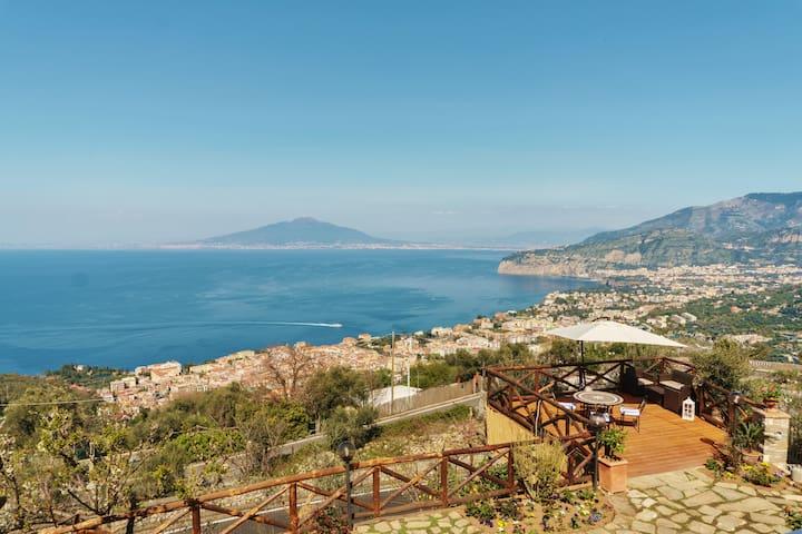 Sea's Overview - Sorrento - Casa