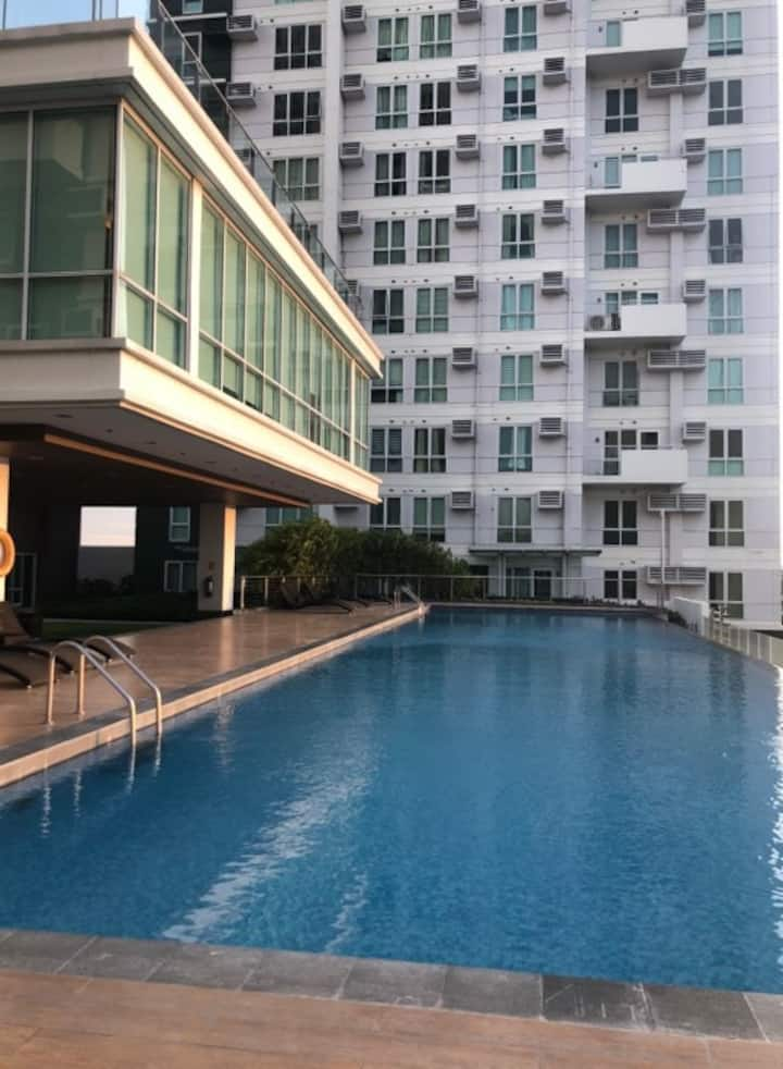 Simple & Homely 1 BR with Balcony Condo Unit