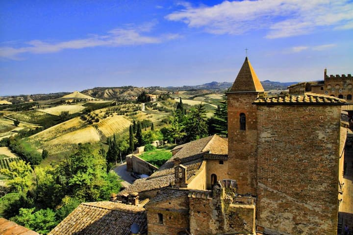 Medieval Tuscany near Florence