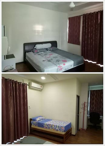 Family room in Kota Sentosa (near airport) - Kota Samarahan
