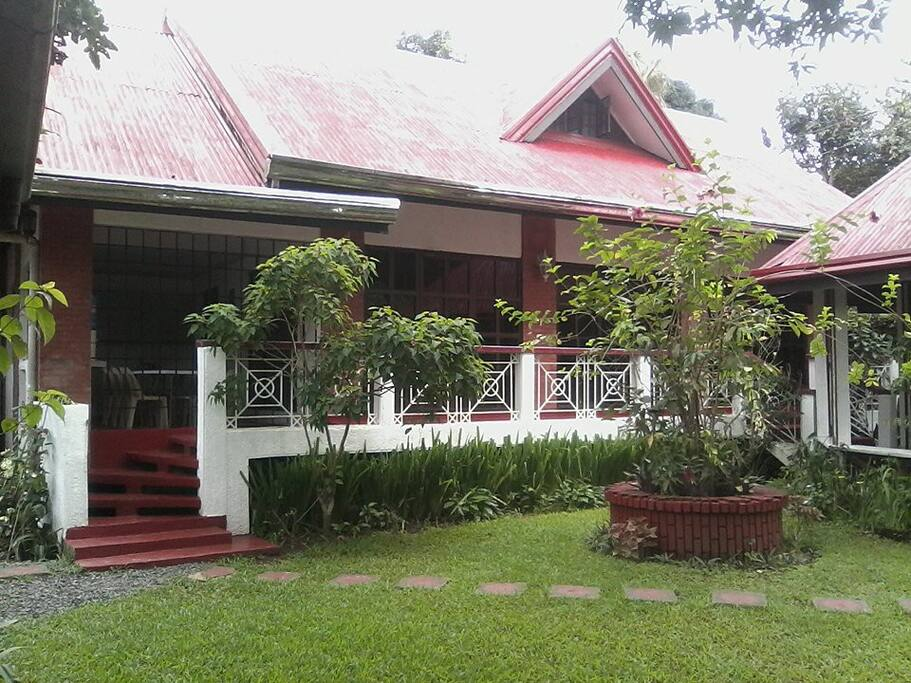 front view guest house